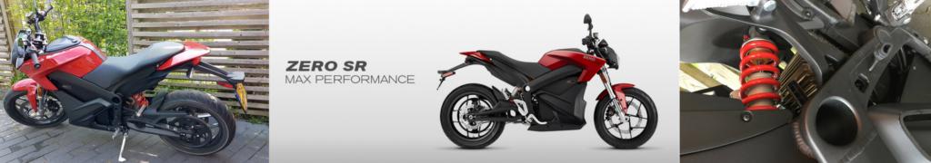 Elektrische motorfiets - Zero SR