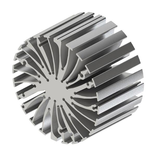 aluminium koelblok heatsink
